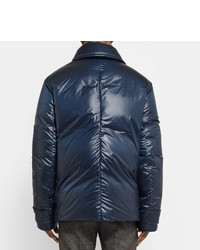 Maison Margiela Quilted Shell Down Peacoat   Where to buy & how to ... : quilted pea coat - Adamdwight.com