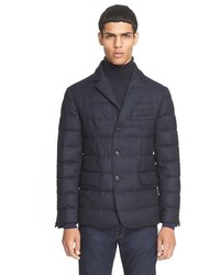 Moncler Rodin Quilted Down Sport Coat