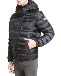 Moncler Valence Hooded Down Coat