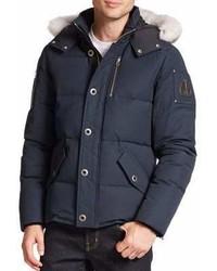 Moose Knuckles 3q Fur Trimmed Puffer Jacket