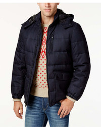 Nautica Big Tall Hooded Puffer Coat
