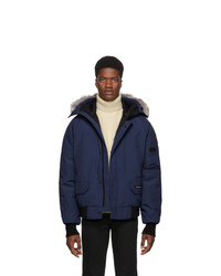 Canada Goose Blue Chilliwack Jacket