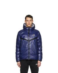 Nike Blue Padded Windrunner Jacket
