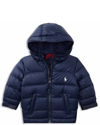 Ralph Lauren Boys Color Block Puffer Jacket Baby