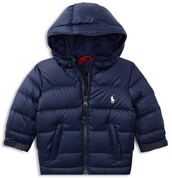 Ralph Lauren Boys Color Block Puffer Jacket Baby