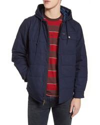 Brixton Cass Hooded Cotton Jacket