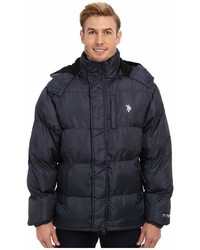 U.S. Polo Assn. Classic Short Bubble Coat W Small Pony