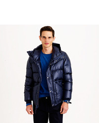 J.Crew Hooded Puffer Jacket