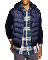 Woolrich John Rich Bros Hooded Down Sweater Jacket 100% Bloomingdales