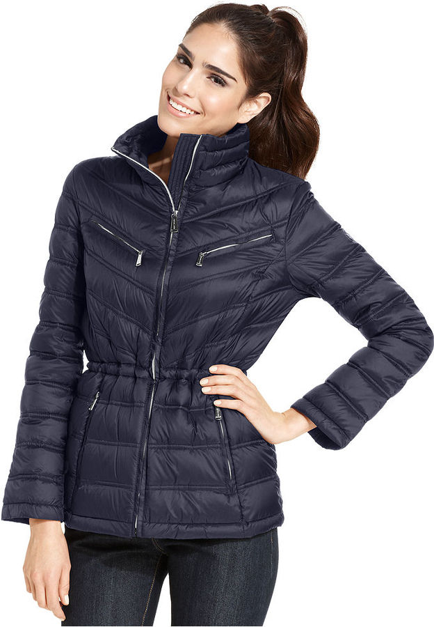 Michael Michael Kors Michl Michl Kors Packable Quilted Puffer Coat