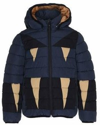 Molo Monster Hooded Puffer Jacket Size 4 10