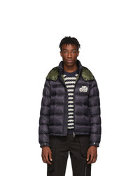Moncler Navy Down Bramant Jacket