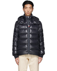 Moncler Navy Down Cuvellier Jacket