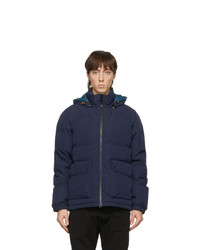 Ps By Paul Smith Navy Down Hooded Jacket
