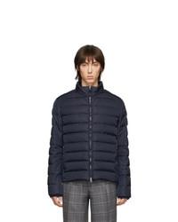 Etro Navy Down Sportswear Jacket