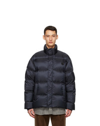 Gucci Navy Down Thinkthank Jacket