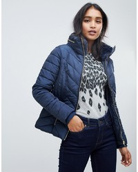 Oasis Padded Jacket In Navy