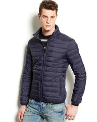 Men s Navy Puffer Jackets by Armani Jeans   Men s Fashion 6ab5cba76f8