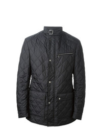 Salvatore Ferragamo Quilted Jacket Blue