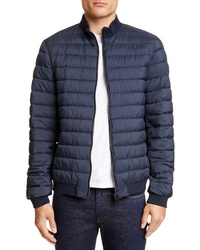Herno Quilted Water Repellent Bomber Jacket