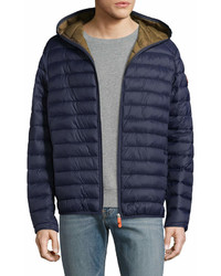 Save The Duck Basic Hooded Puffer Jacket
