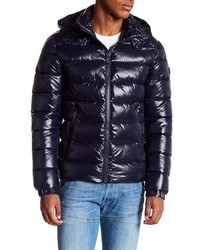 Save The Duck Shiny Hooded Quilted Puffer Jacket
