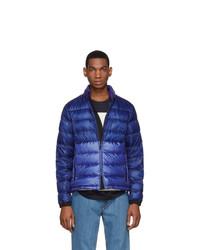 Moncler Ssense Blue Down Aimar Jacket