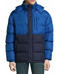 Uspa Us Polo Assn Hooded Puffer Jacket