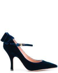 Rochas Bow Detail Stiletto Pumps
