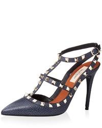 Valentino Rockstud Ankle Strap Pump