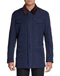 Hickey Freeman Quilted Barn Jacket