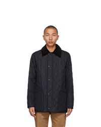 Burberry Navy Quilted Cotswold Jacket