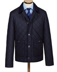 Charles Tyrwhitt Navy Quilted Jacket