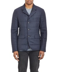 Vince Quilted Three Button Sportcoat Blue Size L