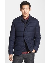 Vince Quilted Wool Blazer