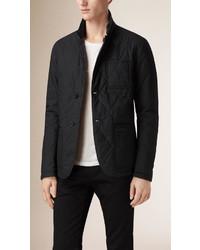 Burberry Reversible Military Quilt Cotton Blazer