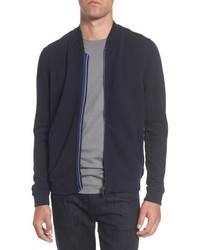 Ted Baker London Clive Quilted Jersey Bomber Jacket