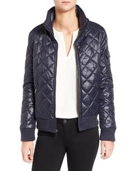 Quilted bomber jacket medium 952128