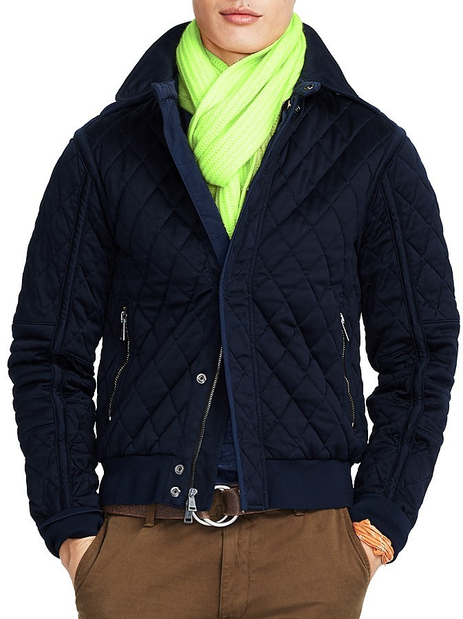 Polo Ralph Lauren Quilted Bomber Jacket Where To Buy How To Wear