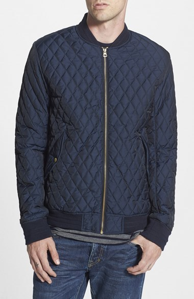 Scotch Soda Quilted Bomber Jacket Where To Buy How To Wear
