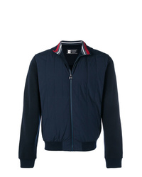 Z Zegna Techmerino Quilted Bomber Jacket