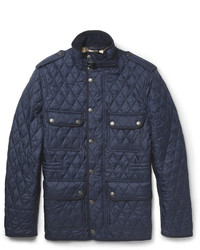 Men's Navy Quilted Field Jackets by Burberry | Men's Fashion : mens navy quilted coat - Adamdwight.com