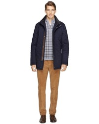 Brooks Brothers Brooksstorm Quilted Wool Jacket