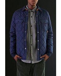Urban Outfitters Cpo Russo Quilted Shirt Jacket