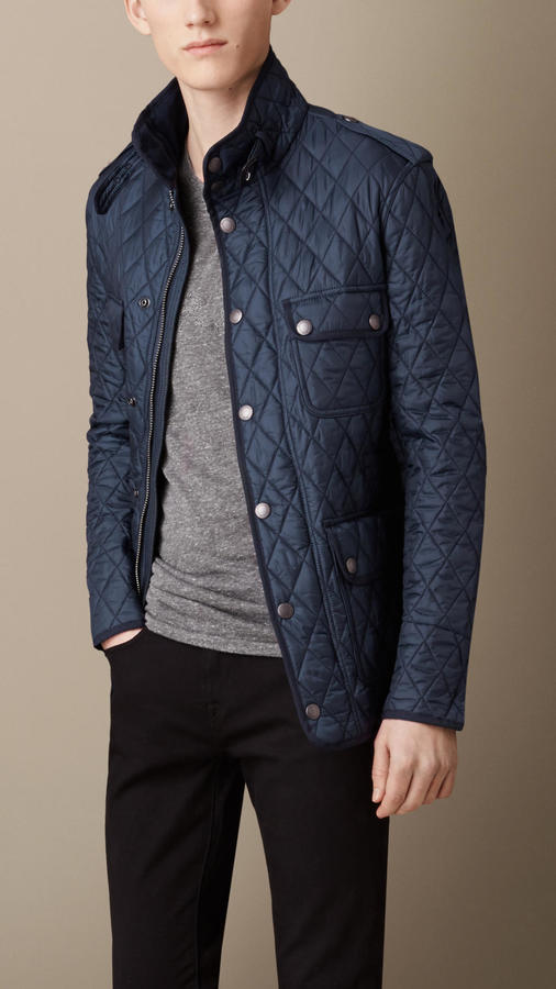 e19d839e6366 Burberry Diamond Quilted Field Jacket