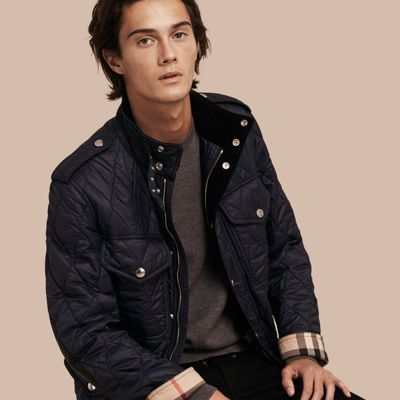Burberry Diamond Quilted Field Jacket Where To Buy How To Wear