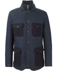 Etro Patch Pocket Quilted Jacket