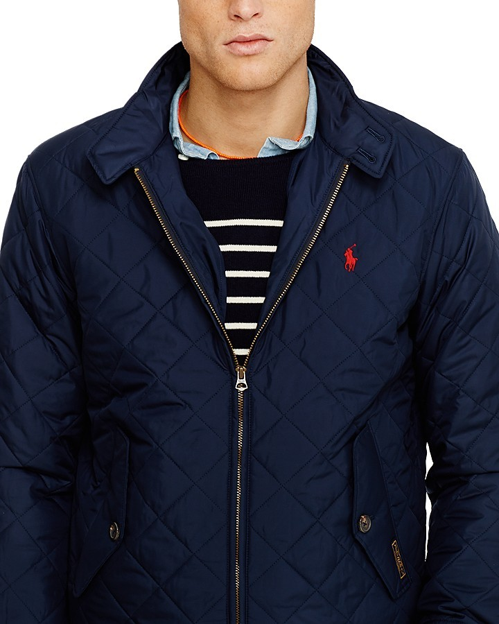 654db586fd $225, Ralph Lauren Polo Quilted Barracuda Jacket