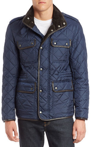 quilt wren cole in men signature coat outerwear a s jacket haan box quilted