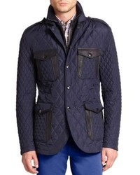 Etro Quilted Safari Jacket